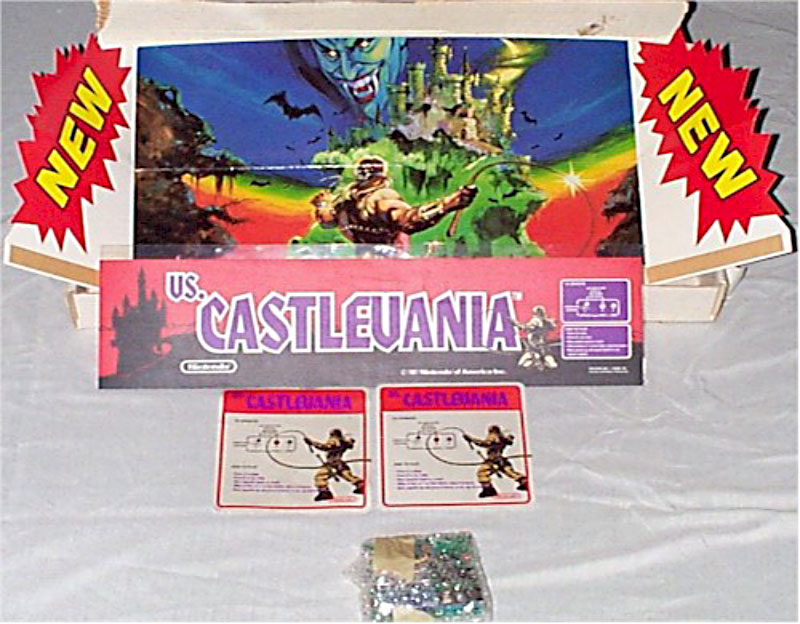 Nintendo VS Castlevania  topper and kit