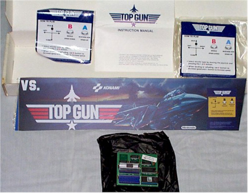 Nintendo VS Top Gun kit.
